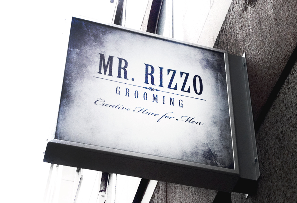Mr Rizzo Grooming Sight Sign