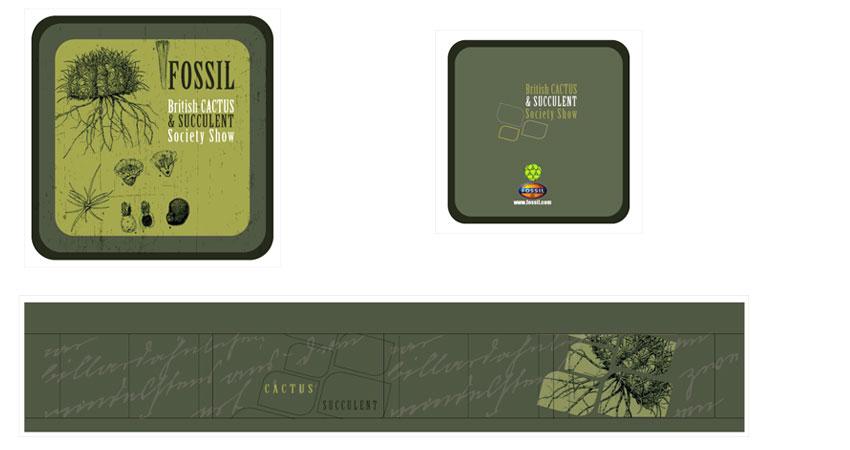 Fossil Tin Box 9