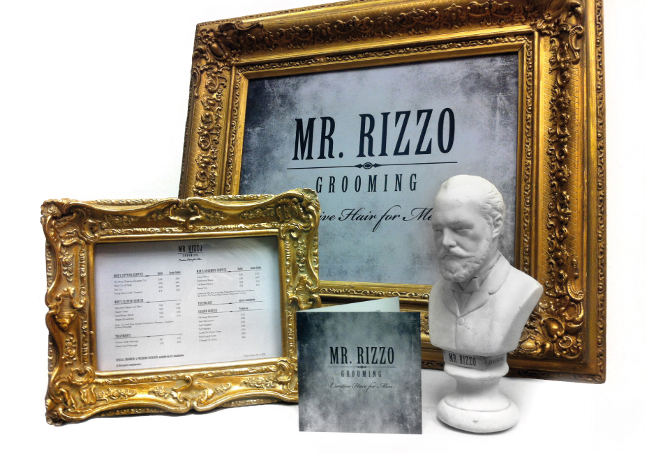 Mr Rizzo Grooming Interior Decorations
