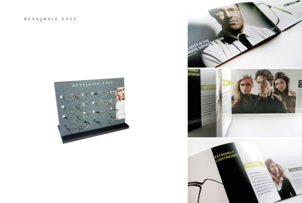 Display Stand and Brochure Designe