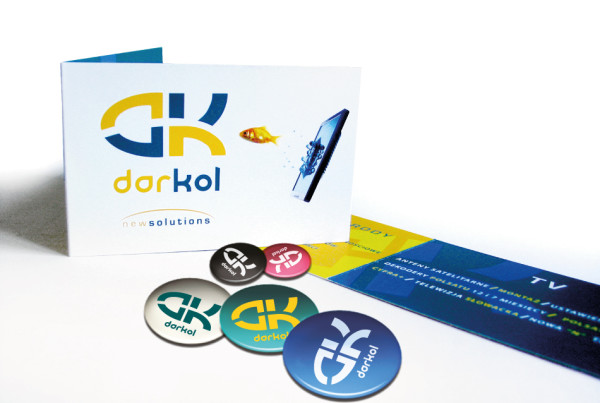 DK Business Card and Pins