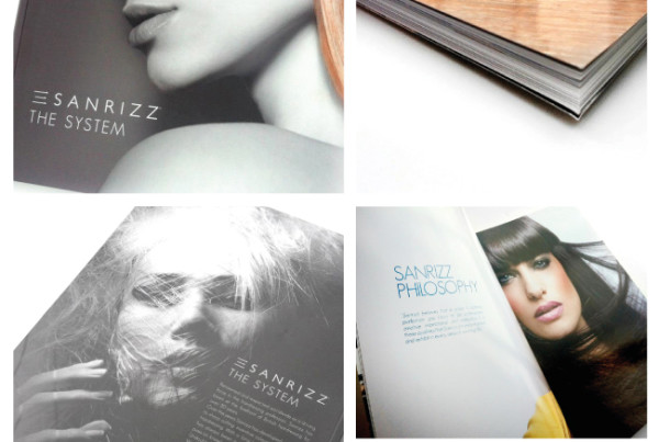 Sanrizz System. Book Design