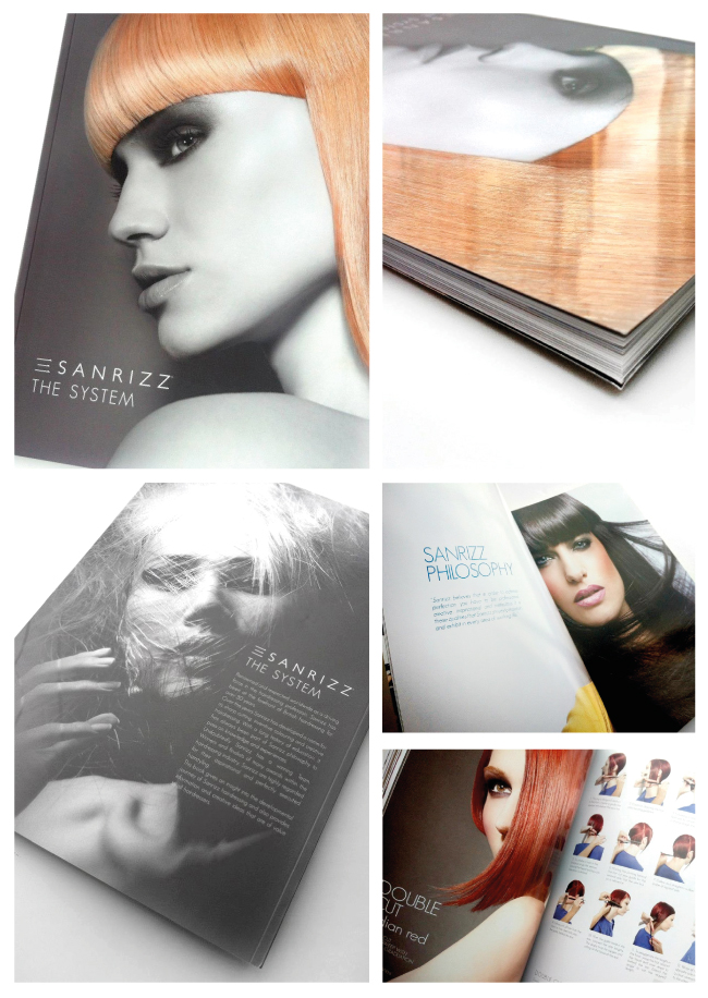 Sanrizz System. Book Design