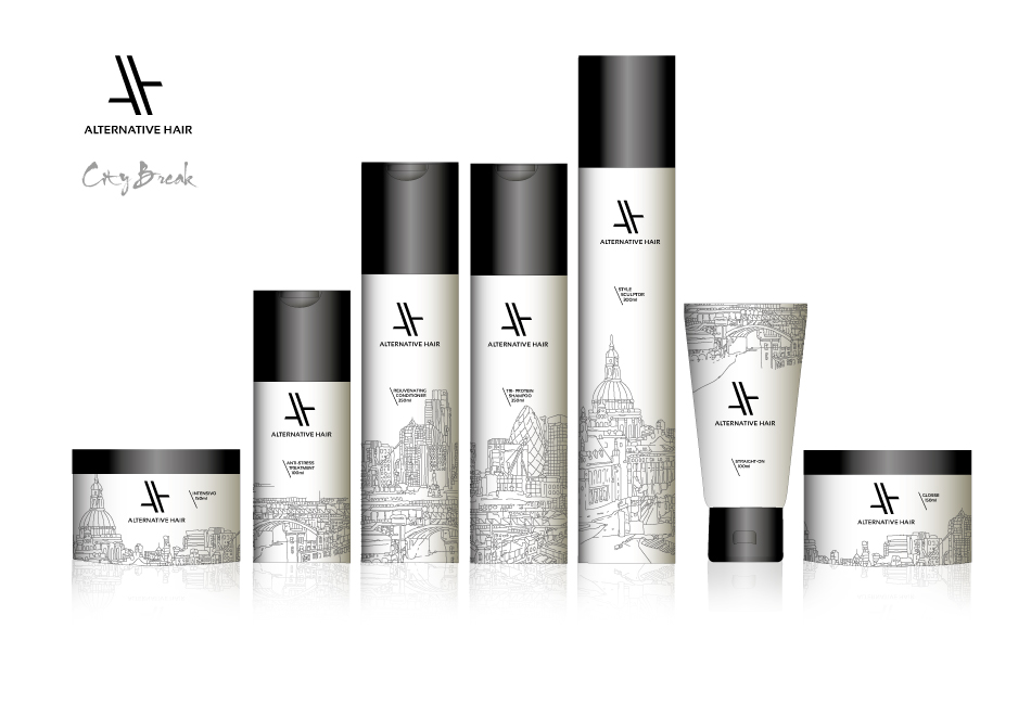 AH City Break Packaging Design