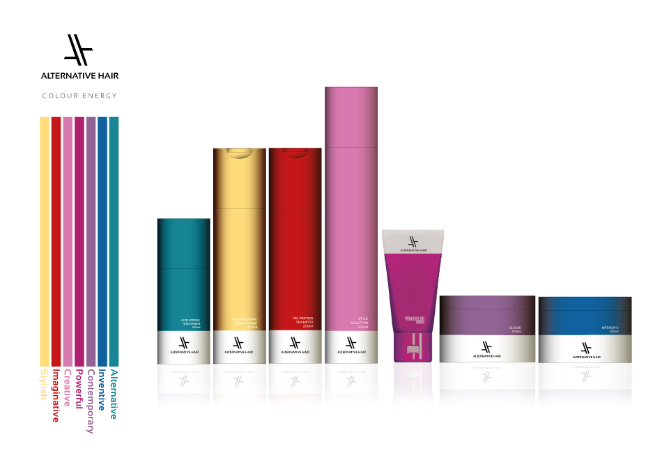 AH Colour Energy Packaging Design