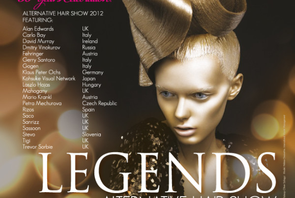 AH Show Legends 2012 Poster Design