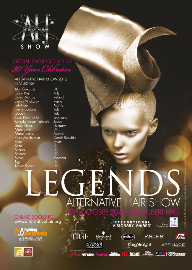 AH Show Legends 2012 Poster Design