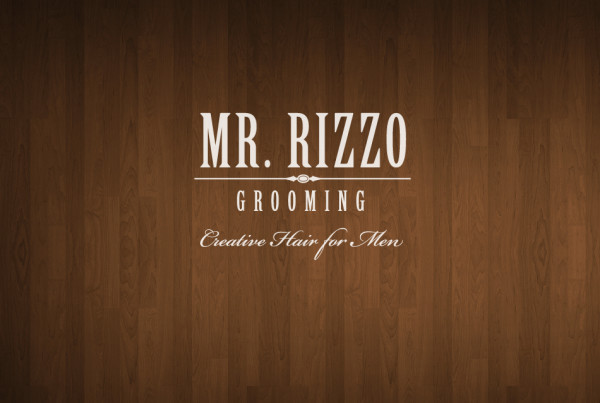 Mr Rizzo Grooming Logo Design